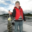 Cole and a nice Lingcod