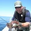 Summer lingcod on the fly