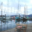 boats and crab pots