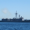 US Navy ship