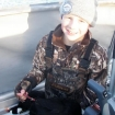 Spencer and his banded surf scoter