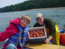 Shrimping Port Townsend
