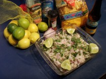 lingcod ceviche